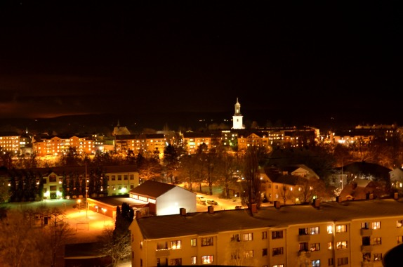 Hedemora by Night