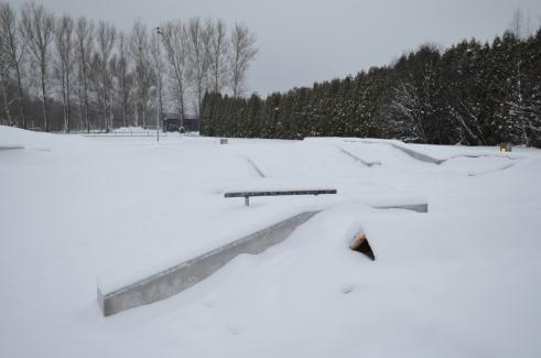 Skateparken i Avesta
