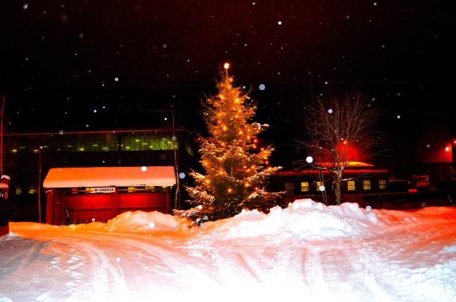 Julstämning dan före dopparedan