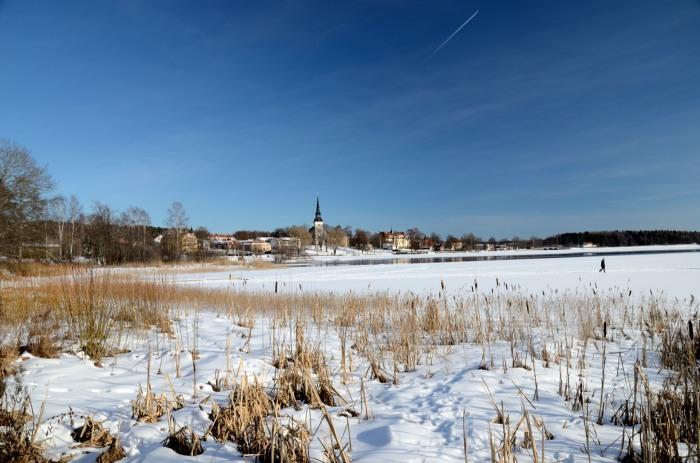Vårvinter i Lindesberg