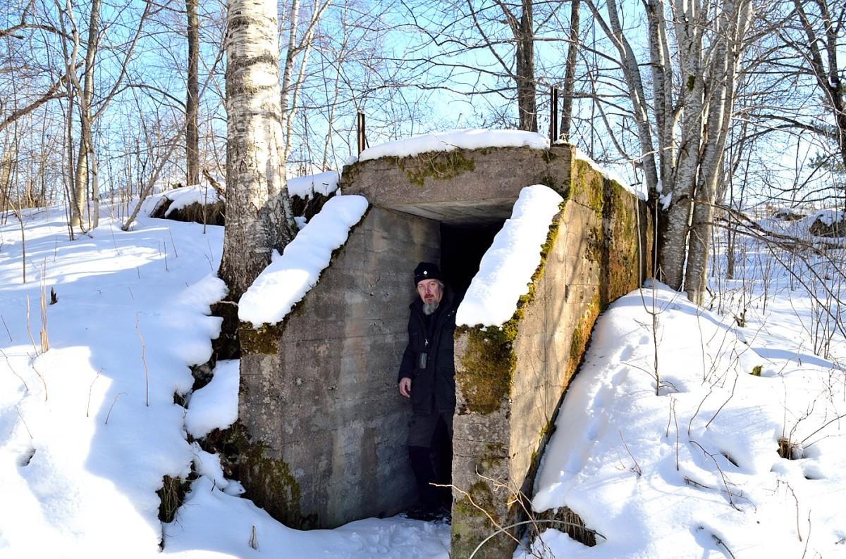 Hemlig tunnel och Waaalling