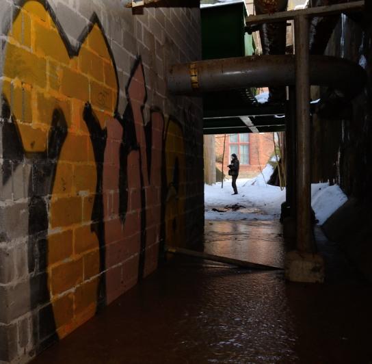Graffiti i Koppardalen