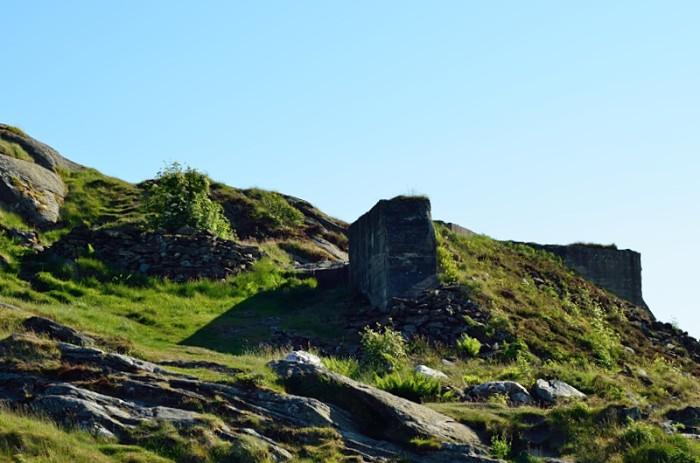 En bunker-ruin