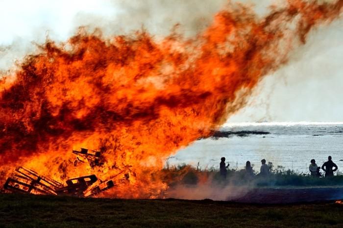 Inferno på  Ølberg