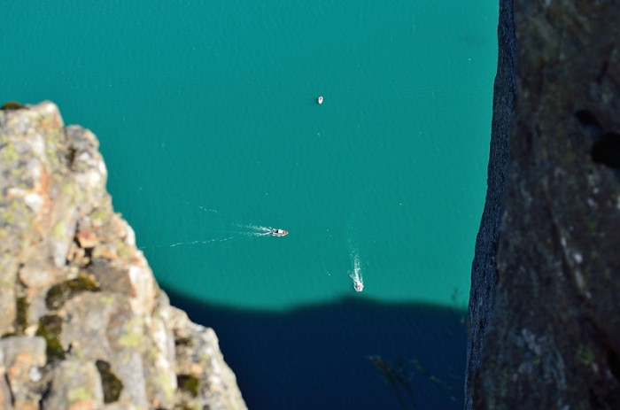 Båtar i fjorden