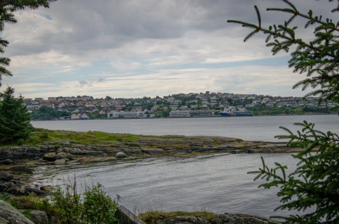 Stavanger sett från Hundvåg