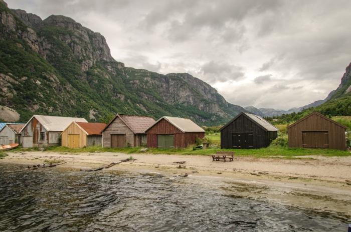 Hus i Frafjord