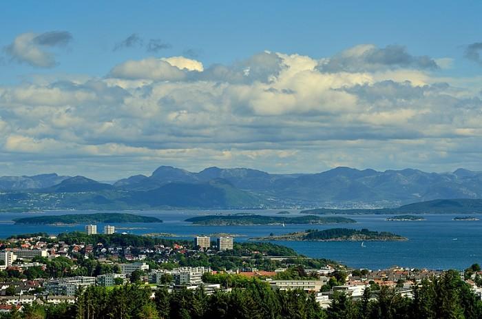 Utsikten från Ullandhaug