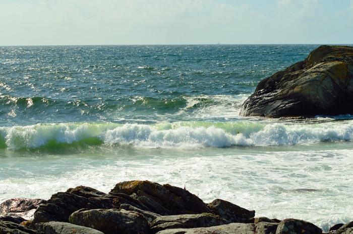 Vågorna i Nudavika