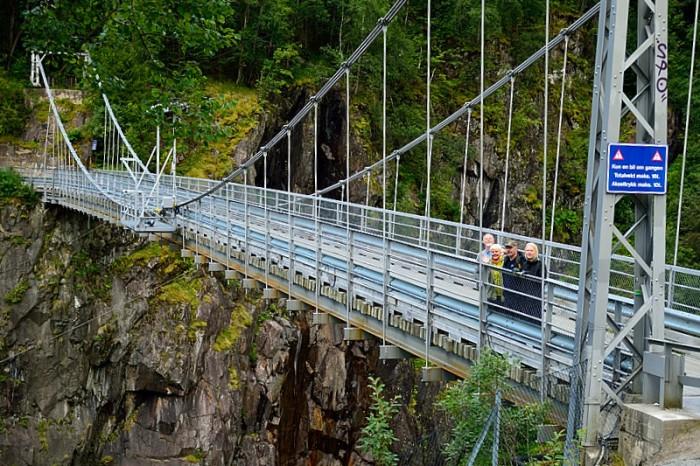 Hängbron till Vemork