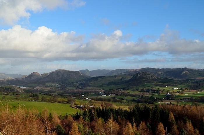 Utsikt från Melsheia