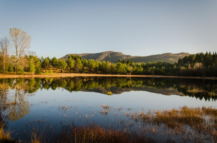 En stilla sjö