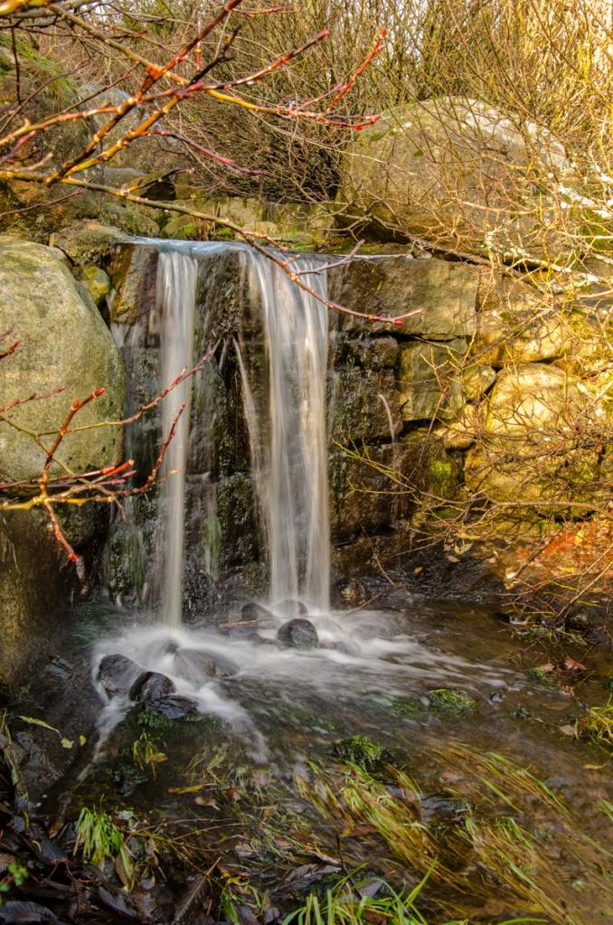 Det lilla vattenfallet