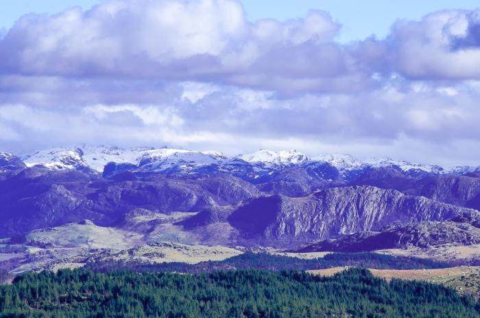 Utsikt från Lyefjell