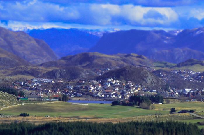 Sagolik liten stad