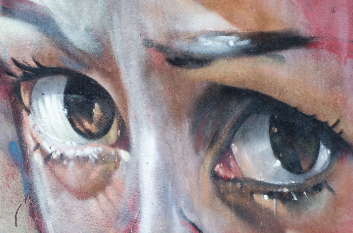 Starka ögon