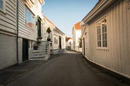 Trånga små gator