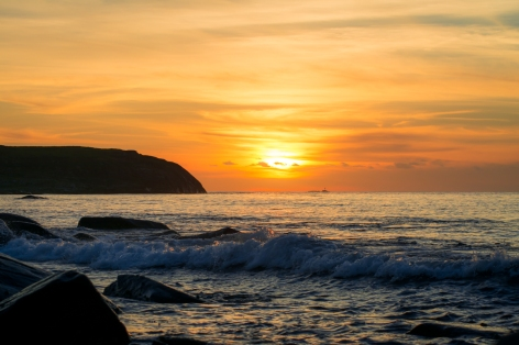 Magisk solnedgång