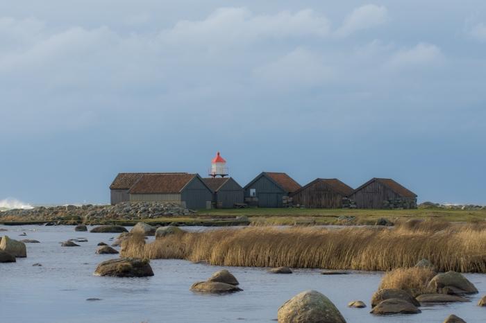 Sjöhusen på Håtangen