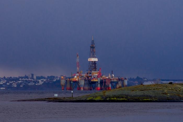 Oljeplattform i Stavanger