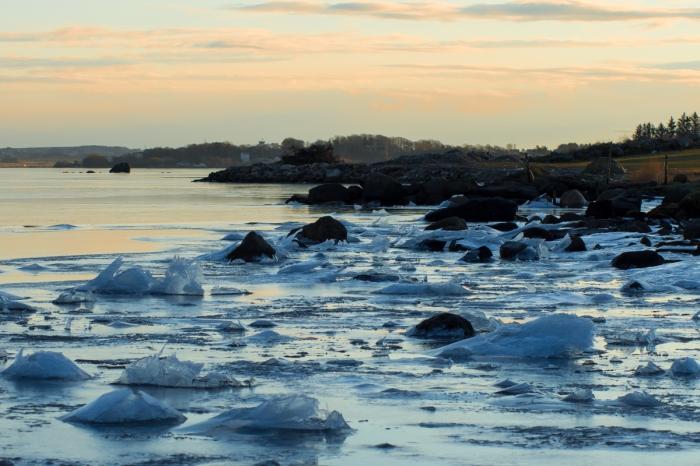 Is i fjorden