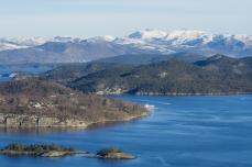 Utsikt ut i fjorden