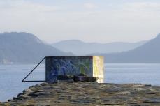 Graffiti vid fjorden