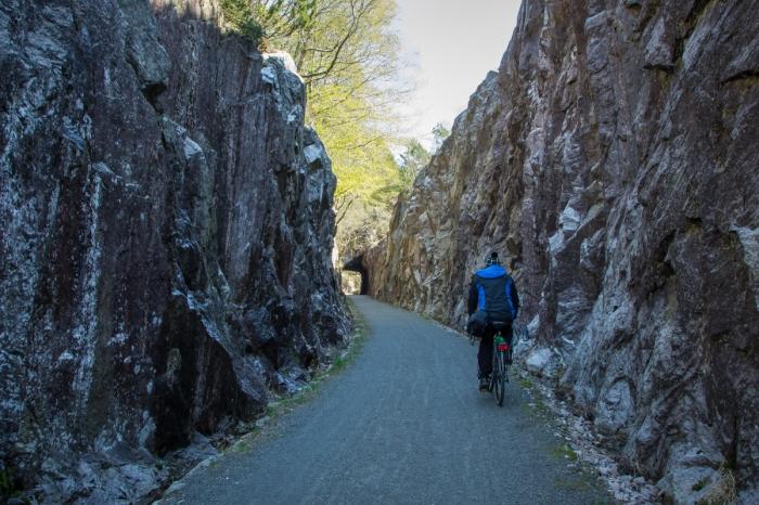 Spännande cykelväg