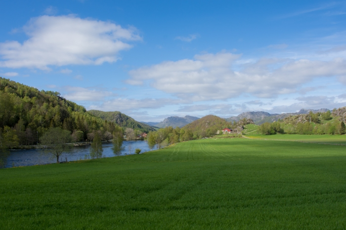 Landskap i Bjerkreim