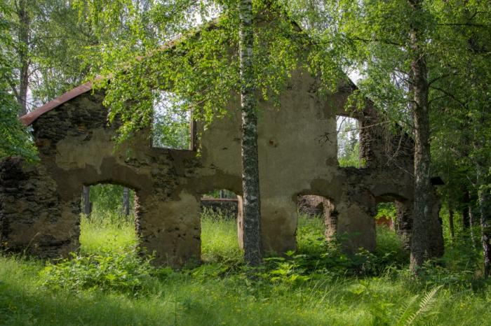 Nyhyttan ruin