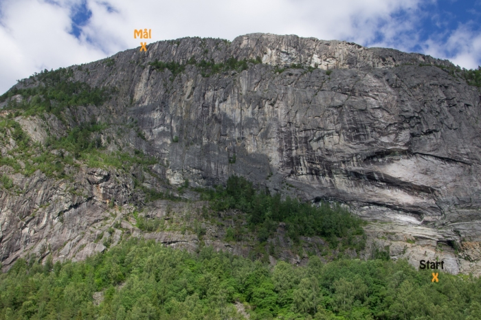 Straumsfjell Via Ferrata