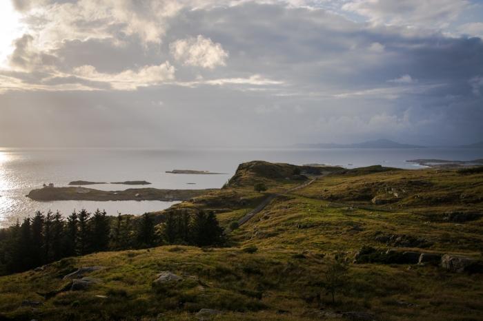 Utsikt Fjøløy
