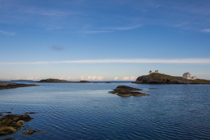 Morgon på Fjøløy