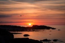 Solnedgång Rægestranden