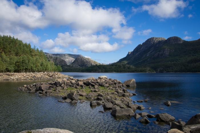 Utsikt från Geitøya