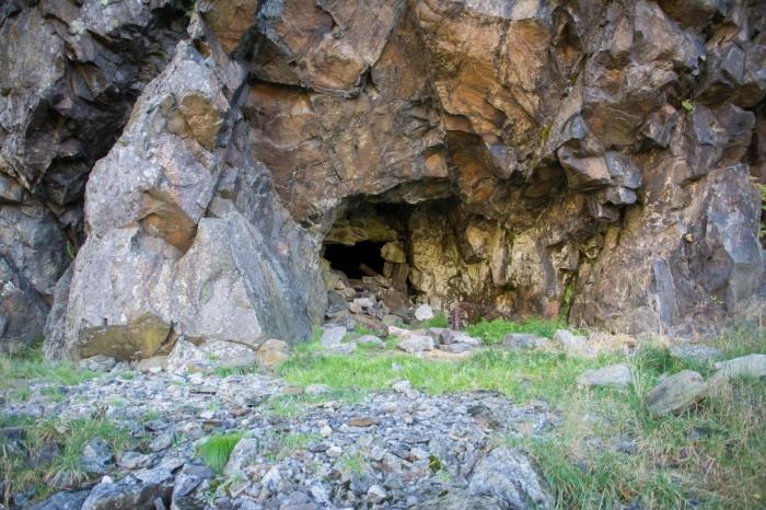 Ingång till gruvan