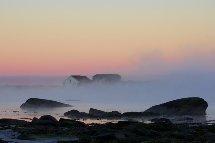 Dimma över havet