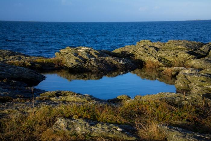 Spegel vid havet
