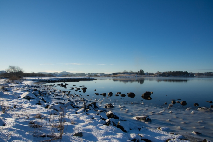 Vinter vid Hafrsfjord