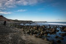 Strandstädning vid Orre