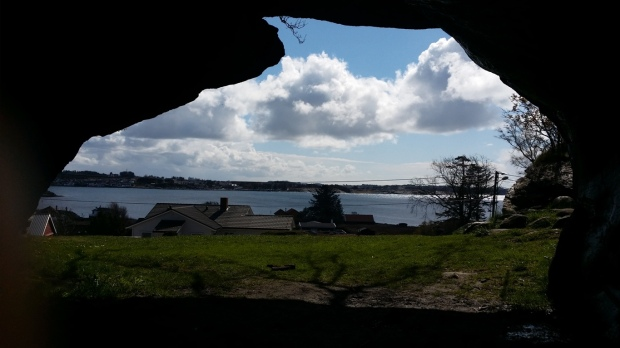 Inifrån grottan