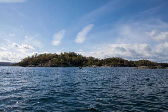 Ut till Nådøya