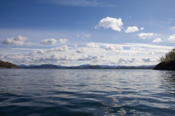 Härligt på sjön