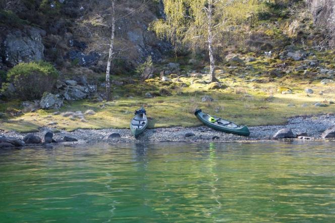 Kanoter i Buvika