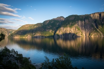 Kvällssol i Jøsenfjorden