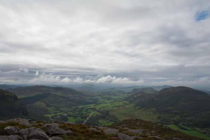 Utsikt från toppen