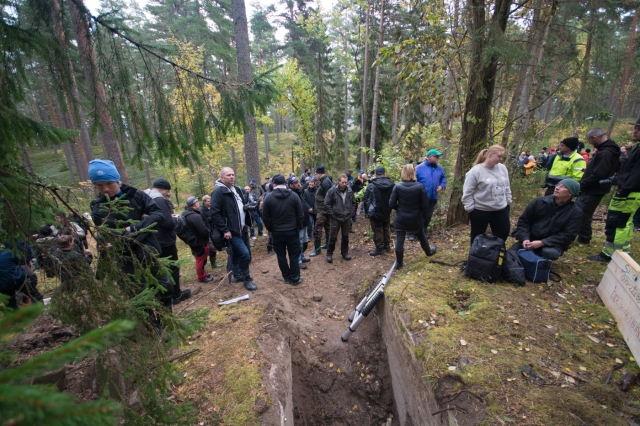 Samling på Stadsberget