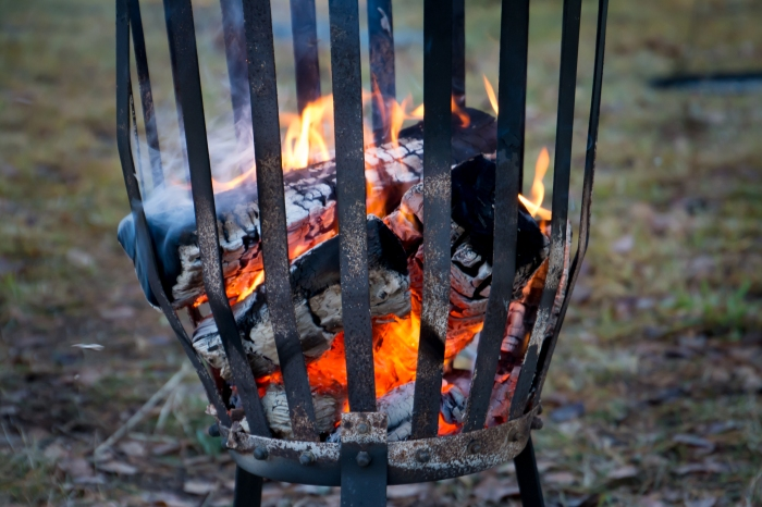 Nyårsdags-eld