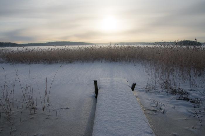 Vinter-brygga