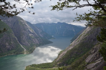 Utsikt mot Eidfjord